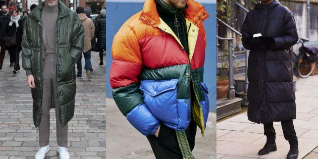 Мужская мода: объёмные куртки-пуфферы