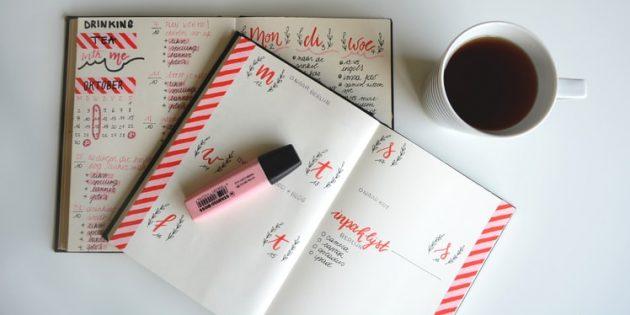 Как вести ежедневник: система 1–3–5
