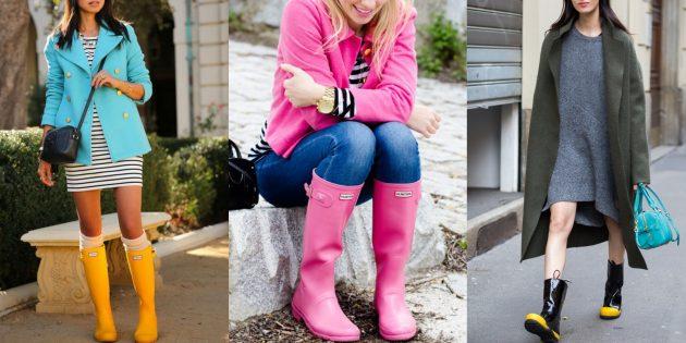 Модная обувь осень зима 2019–2020: резиновые сапоги