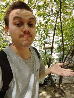 Sony Xperia 1: фото на ультраширокоугольный объектив
