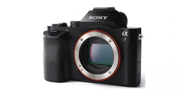 Фотоаппараты для начинающих: Sony Alpha A7