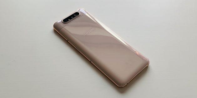 Samsung Galaxy A80: задняя панель