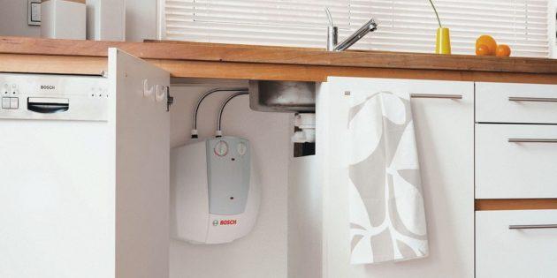 При выборе водонагревателя посчитайте количество точек водоразбора