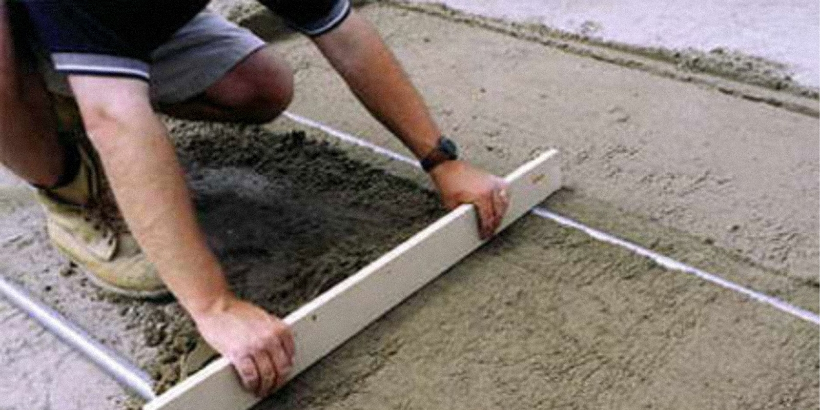 можно ли класть бетон на землю