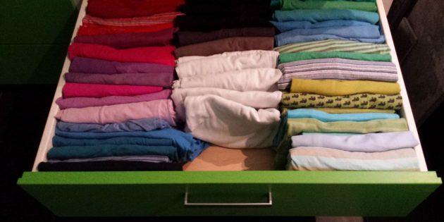 «Магия уборки» Мари Кондо: храните одежду правильно
