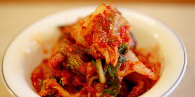 Корейская кухня: кимчи