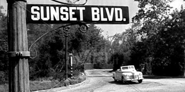Названия фильмов, изменившие смысл в переводе: Sunset Blvd — «Бульвар Сансет»