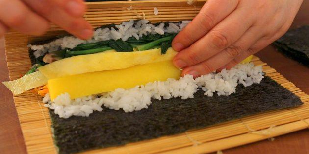 Как готовить кимпаб