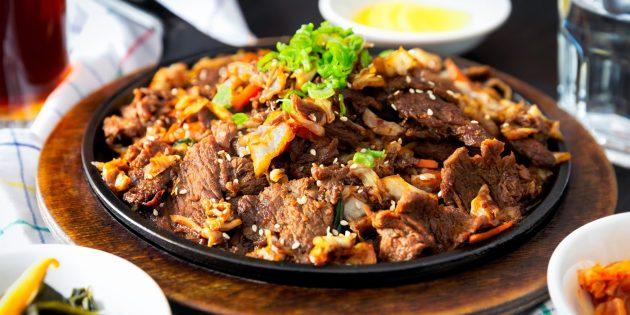 Корейская кухня: пулькоги