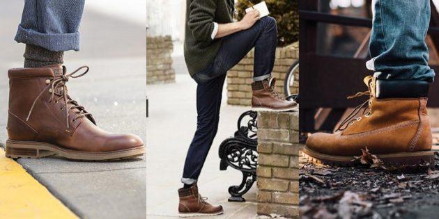 Мужские модные ботинки осени и зимы 2019–2020
