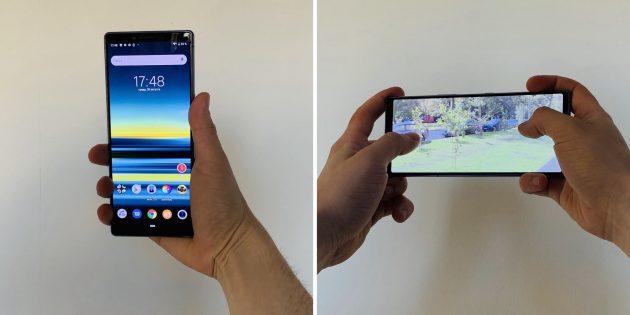Sony Xperia 1: в руках