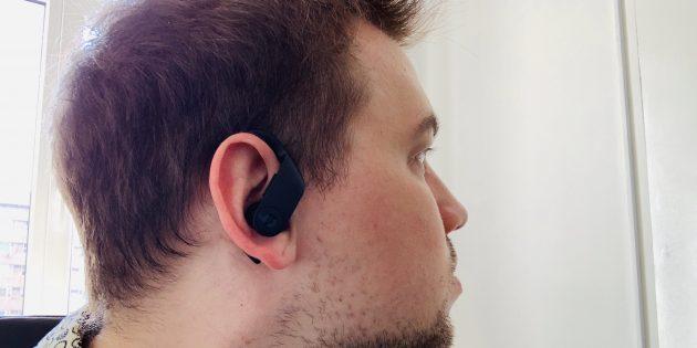 Powerbeats Pro в ушах