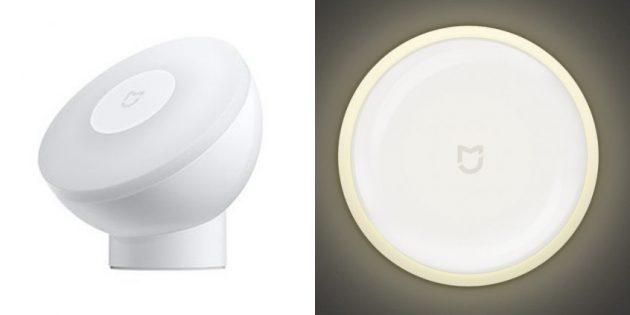 Xiaomi анонсировала ночные лампы Mijia Night Light 2