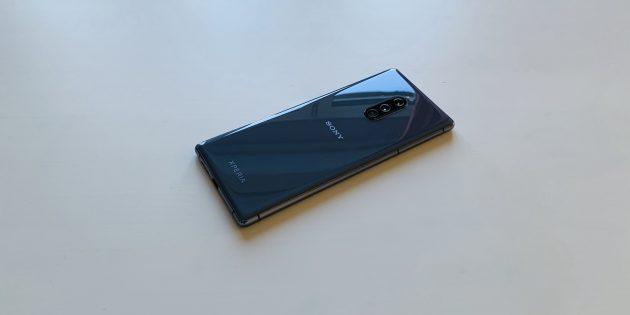 Sony Xperia 1: задняя панель