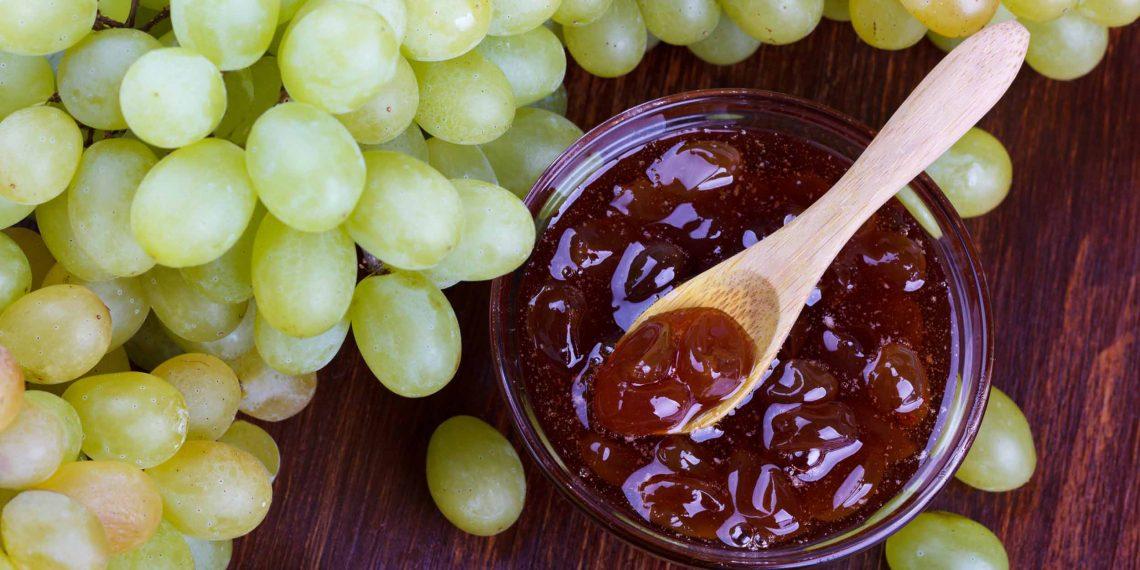 рецепт варенья из винограда без косточек