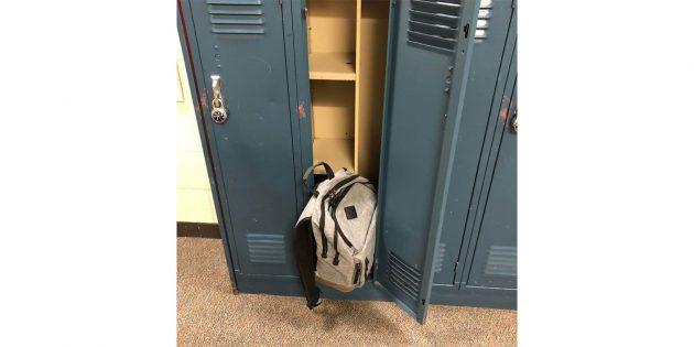 Шкафчик в школе