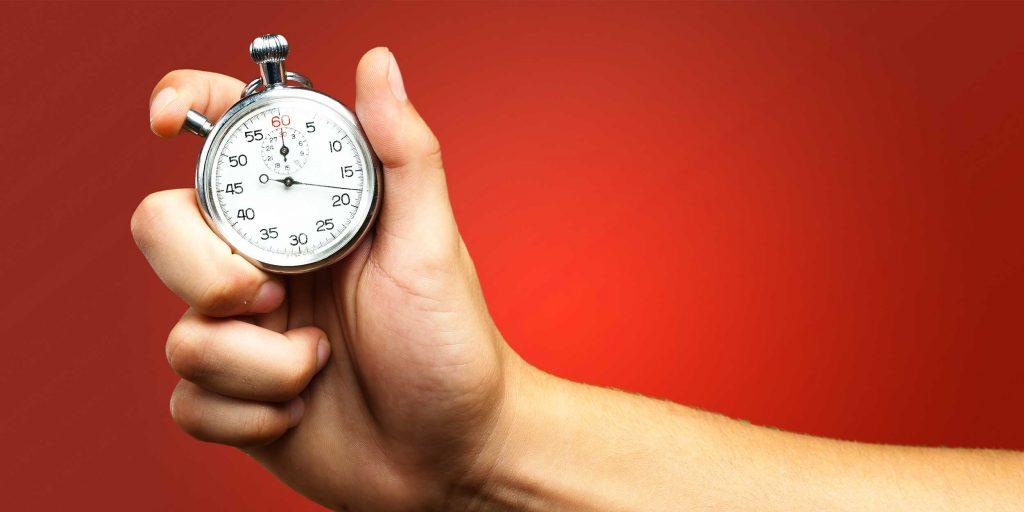 Найдите наиболее продуктивное время для работы