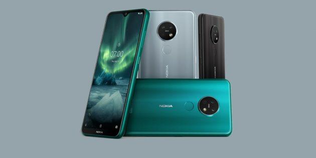 Nokia 7.2 и 6.2 — новые среднебюджетные смартфоны с тройными камерами