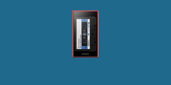 Sony выпустила плеер к 40-летию Walkman. Он выглядит как кассетный
