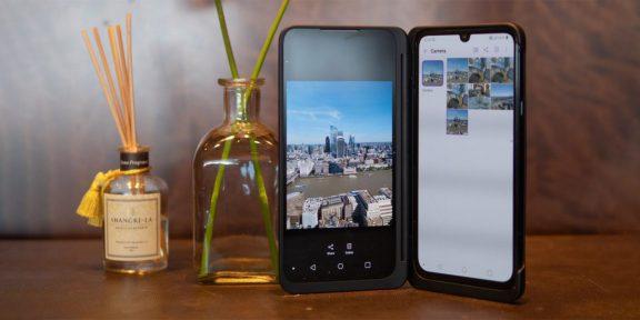 LG представила флагман G8X ThinQ. К нему можно подсоединить второй экран