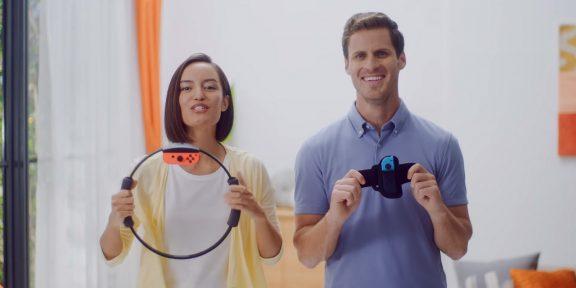 Nintendo представила контроллер, который превращает Switch в фитнес-тренажёр