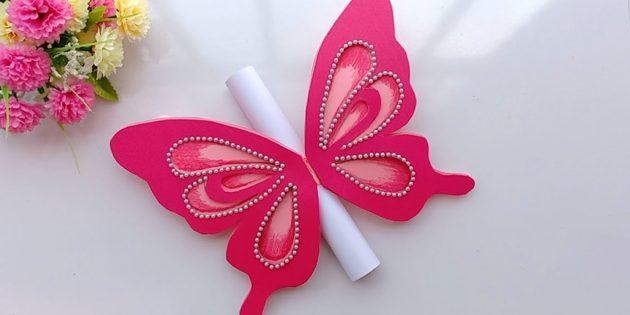 Как сделать открытки с бабочкой на день рождения своими руками