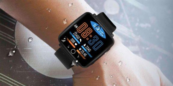 Lenovo представила недорогие умные часы с изогнутым дисплеем и защитой от влаги