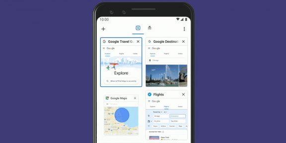 В мобильном и десктопном Chrome появились удобные функции для работы с вкладками