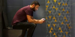 Любите посидеть на унитазе с телефоном? Рискуете заработать геморрой