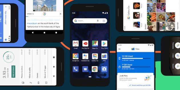 Google представила Android 10 Go — новую версию ОС для слабых смартфонов
