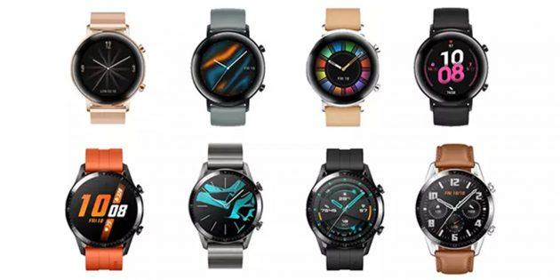 Цвета Huawei Watch GT 2