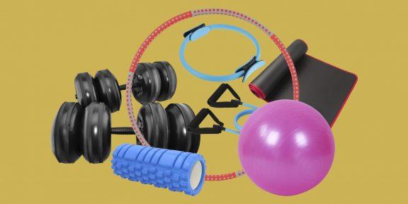 35 вещей с AliExpress и из других магазинов для эффективной тренировки дома