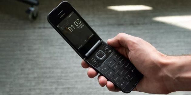 Nokia 2720 в разложенном виде