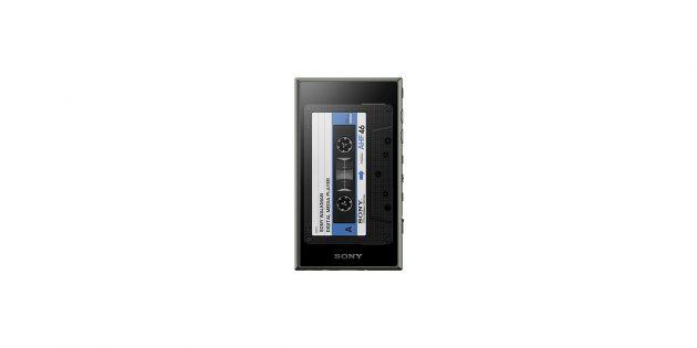 Юбилейный Sony Walkman со скринсейвером