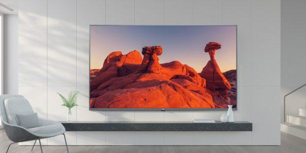 Xiaomi Mi TV 4X 65″ в комнате