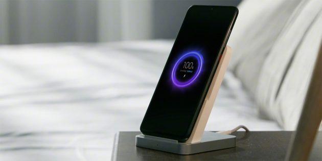 Вертикальная беспроводная зарядка Xiaomi