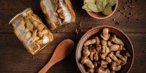 4 рецепта аппетитных маринованных опят