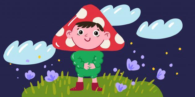 Загадки про растения и грибы для детей 6 лет