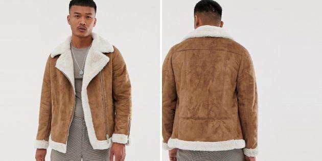Куртка-авиатор от boohooMAN