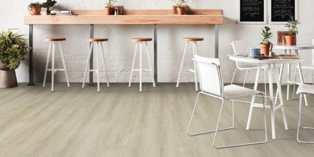 Скандинавский стиль в интерьере: деревянные полы