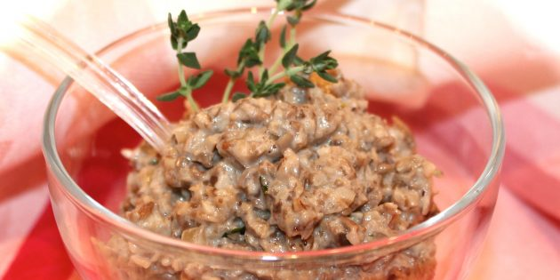 Рецепт грибной икры из подосиновиков с вином и томатной пастой
