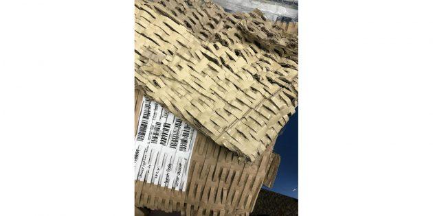 переработанный картон