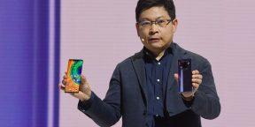 Huawei представила флагманы Mate 30. Они будут соперничать с iPhone 11