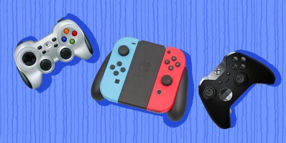 На что обратить внимание при выборе геймпада для ПК