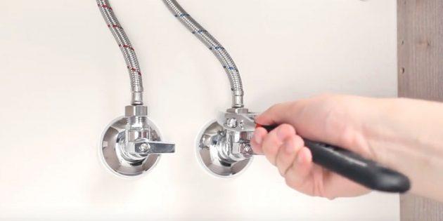 Установка смесителя: подключитесь к водопроводу