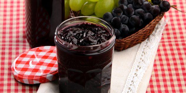 Варенье из винограда с ванилином