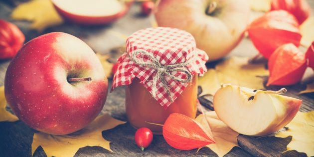 Повидло из яблок в собственном соку