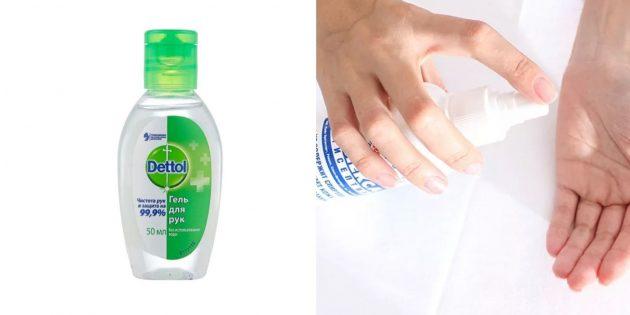 Очищающий гель-антисептик для рук