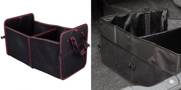 Что взять с собой в поездку: органайзер для багажника