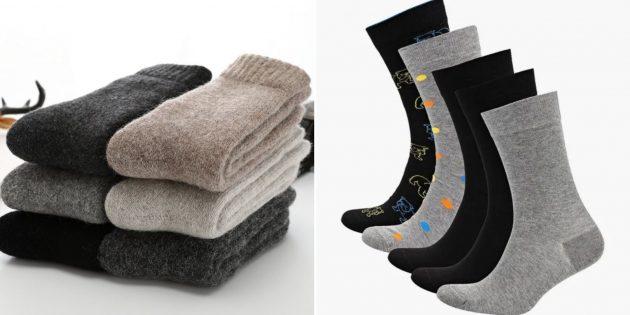 Что взять с собой в поездку: тёплые носки